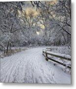 Winter Sunrise Metal Print by Sebastian Musial