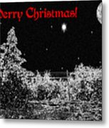 Winter's Night Metal Print by Methune Hively