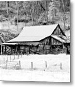 Winter's White Shroud Metal Print by Tom Mc Nemar