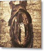 Without Horse Metal Print by Wim Lanclus