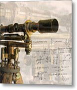 Wood And Brass Transit Metal Print by Gary Gunderson