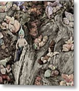 Woodland Fairies Metal Print by Anne Geddes