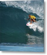 World Champion In Action Metal Print by Kevin Smith