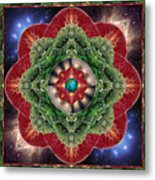 World-healer Metal Print by Bell And Todd