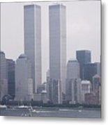 World Trade Center And Opsail 2000 July 4th Photo 6 Metal Print by Sean Gautreaux