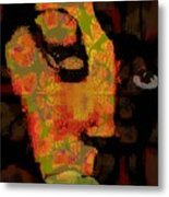 World Traveler Against Forced Marriage Metal Print by Fania Simon