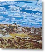 Wyoming Afternoon Metal Print by Dale Beckman