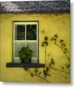 Yellow House County Clare Ireland Metal Print by Teresa Mucha