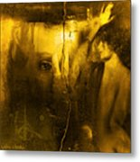 Yesterday Metal Print by Sabine Stetson