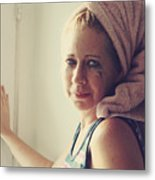 Your Sorrow Shows Metal Print by Laurie Search