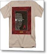Bear Bryant  Metal Print by Herb Strobino