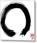 Zen Circle Five Metal Print by Peter Cutler