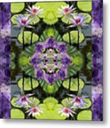Zen Lilies Metal Print by Bell And Todd