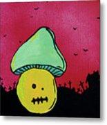 Zombie Mushroom 2 Metal Print by Jera Sky