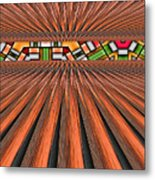 Zoned Metal Print by Wendy J St Christopher