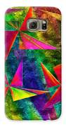 Rainbow Bliss - Pin Wheels - Painterly - Abstract - H Galaxy S6 Case by Andee Design