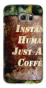Gritty Instant Human Galaxy S6 Case by Angelina Vick