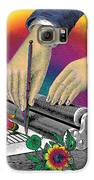 The Creation Of Flowers Galaxy S6 Case by Eric Edelman