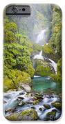 Amazing Waterfall iPhone Case by Tim Hester