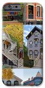 Chicago historic Old Town Triangle iPhone Case by Christine Till