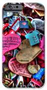 If You Love it Lock It  iPhone Case by Michael Garyet