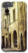 Medieval street in France iPhone Case by Elena Elisseeva