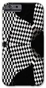 Organic Optical Illusion 4 iPhone Case by The Art of Marsha Charlebois