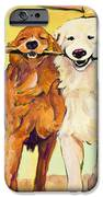 Stick With Me iPhone Case by Pat Saunders-White