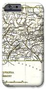 1835 Pennsylvania and New Jersey Map iPhone Case by Bradford