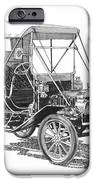 1911 Ford Model T Tin Lizzie iPhone Case by Jack Pumphrey