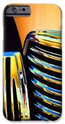 1939 Studebaker Champion Grille iPhone Case by Carol Leigh