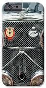 1950 Jaguar XK120 Roadster Grille iPhone Case by Jill Reger