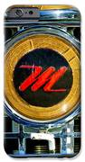 1958 Nash Metropolitan Hood Ornament 3 iPhone Case by Jill Reger