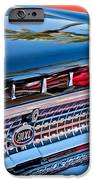 1963 Ford Galaxie 500XL Taillight Emblem iPhone Case by Jill Reger