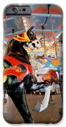 Carousel at Kennywood Park Pittsburgh Pennsylvania iPhone Case by Amy Cicconi