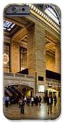 360 Panorama of Grand Central Station iPhone Case by David Smith