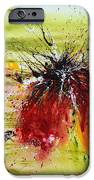 Abstract Flower iPhone Case by Ismeta Gruenwald