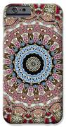 Kaleidoscope Colorful Jeweled Rhinestones iPhone Case by Amy Cicconi