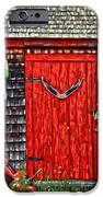 A Door In Maine iPhone Case by Darren Fisher
