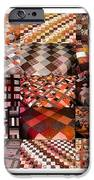 A Menagerie of Colorful Quilts -  Autumn Colors - Quilter iPhone Case by Barbara Griffin
