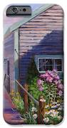 A Visit to P Town Two iPhone Case by Laura Lee Zanghetti