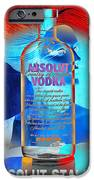 Absolut Psychedelic iPhone Case by Chuck Staley