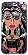 Alalia The Quiet One iPhone Case by Tisha McGee