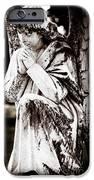 Angel in Prayer iPhone Case by Sonja Quintero
