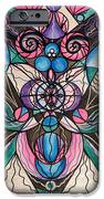Arcturian Healing Lattice  iPhone Case by Teal Eye  Print Store