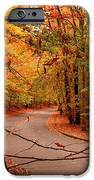 Autumn In Holmdel Park iPhone Case by Angie Tirado