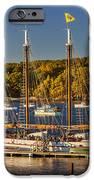 Bar Harbor Schooner iPhone Case by Brian Jannsen