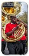 Battered Tuba Blues iPhone Case by Steve Harrington