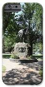 Bear Flag Statue At Sonoma Plaza In Downtown Sonoma California 5D24432 iPhone Case by Wingsdomain Art and Photography