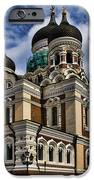 Beautiful Cathedral in Tallinn Estonia iPhone Case by David Smith